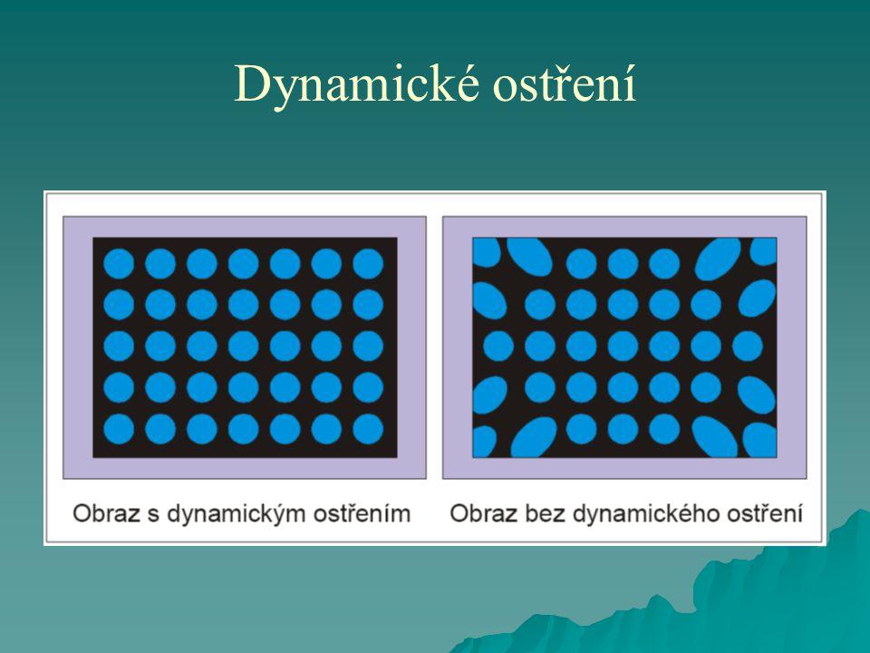 Dynamické ostření