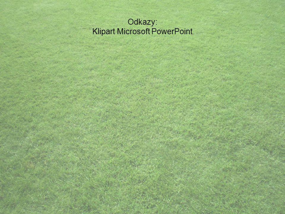 Odkazy: Klipart Microsoft PowerPoint