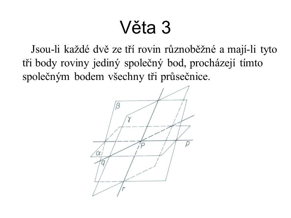 Věta 3