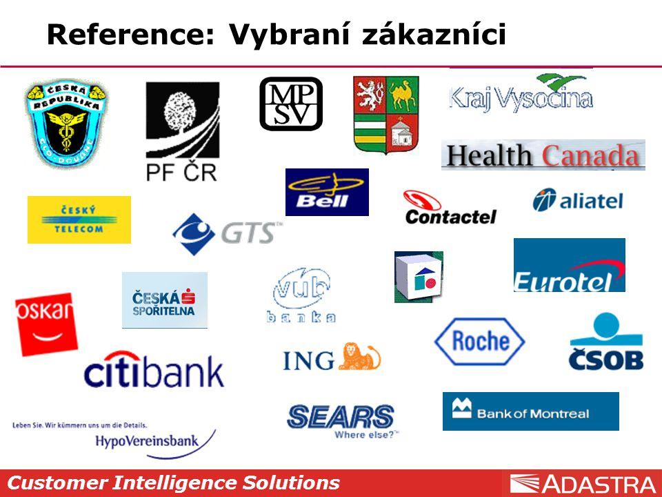 Reference: Vybraní zákazníci