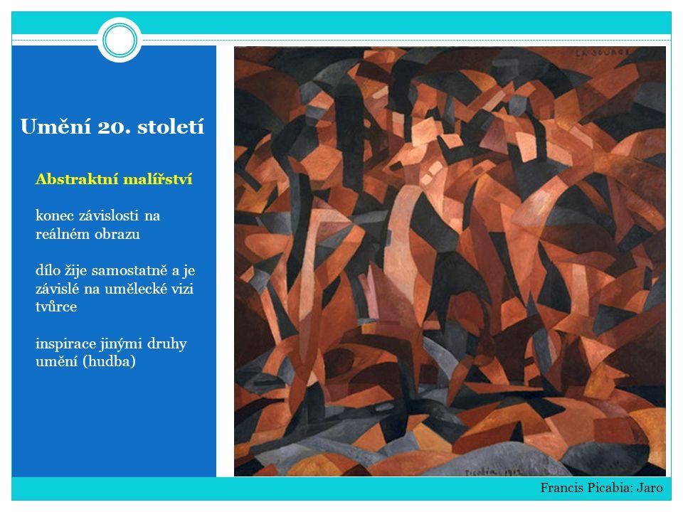 Umění 20. století Abstraktní malířství