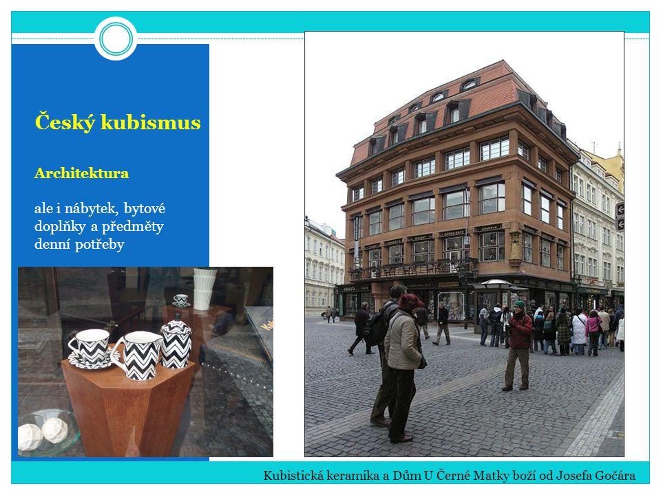 Český kubismus Architektura