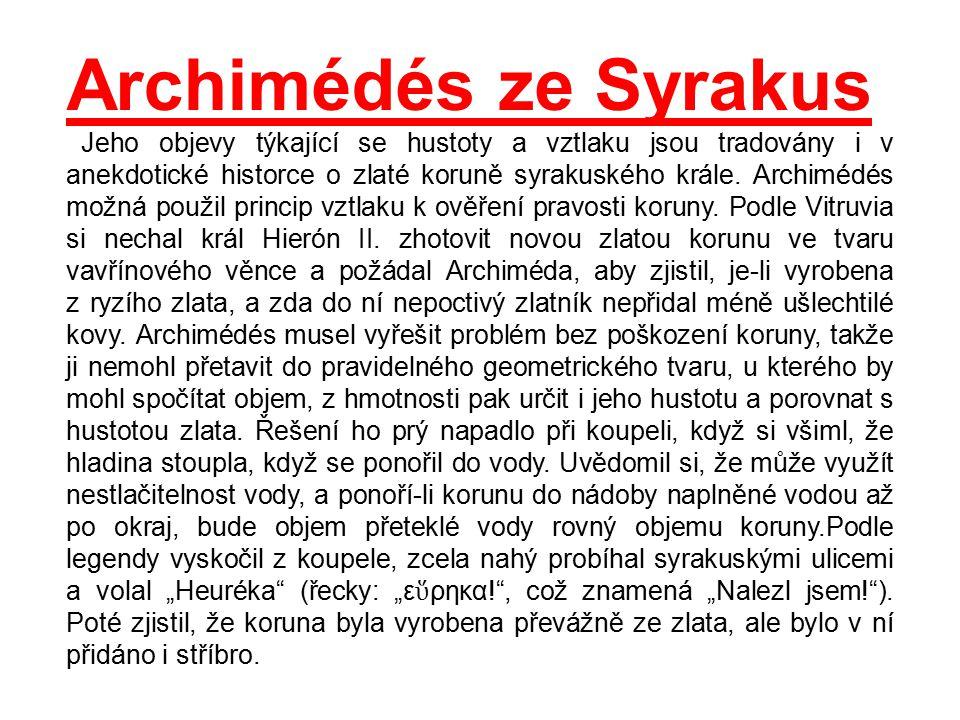 Archimédés ze Syrakus