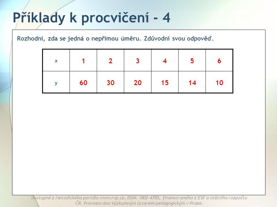 Příklady k procvičení - 4