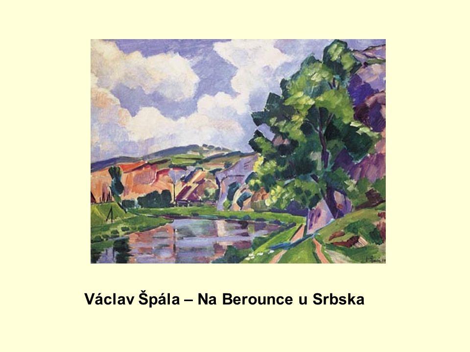 Václav Špála – Na Berounce u Srbska