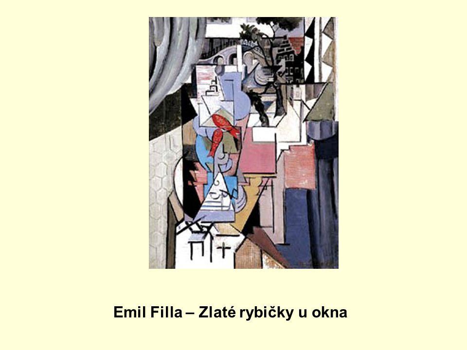 Emil Filla – Zlaté rybičky u okna
