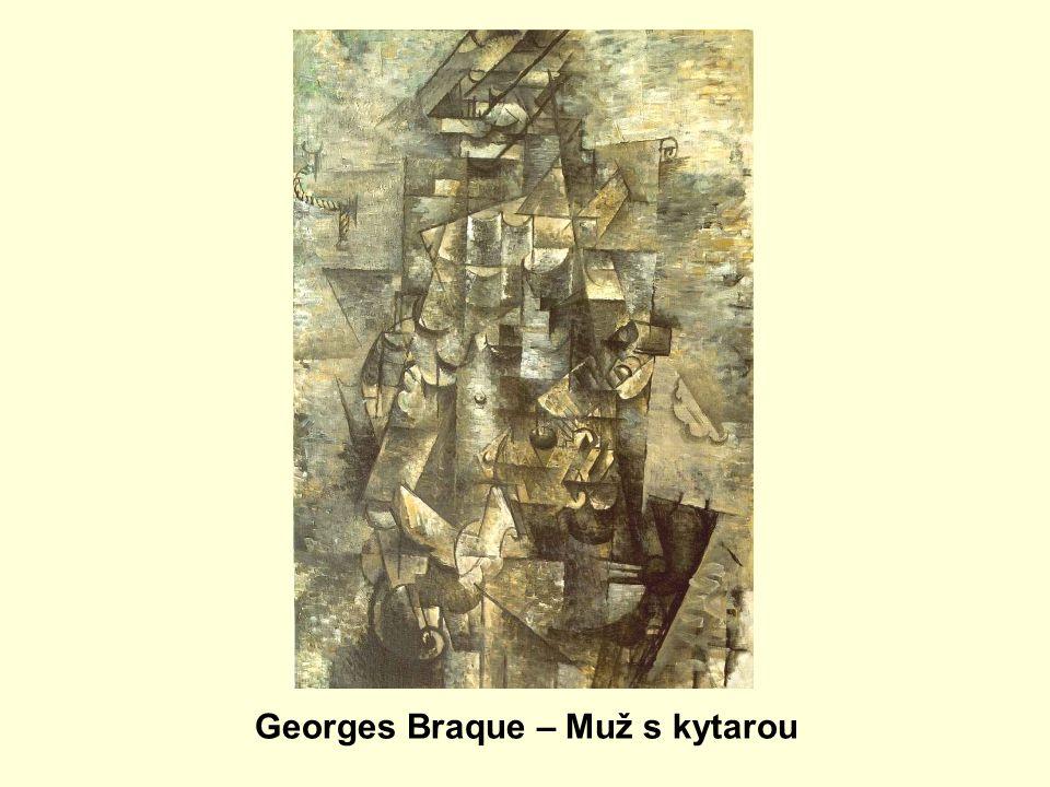 Georges Braque – Muž s kytarou
