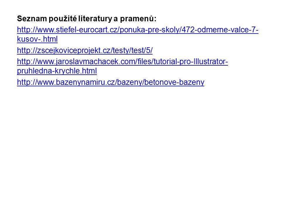 Seznam použité literatury a pramenů: http://www. stiefel-eurocart