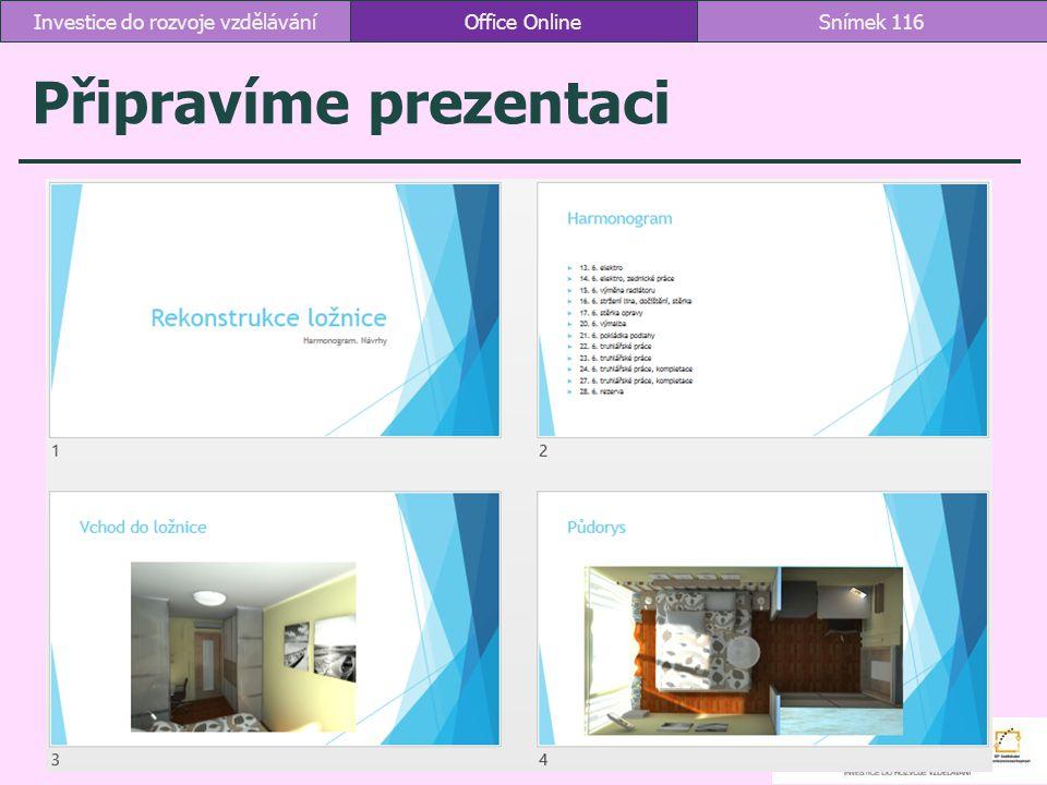 Připravíme prezentaci