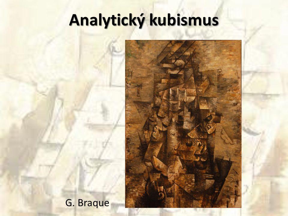 Analytický kubismus G. Braque