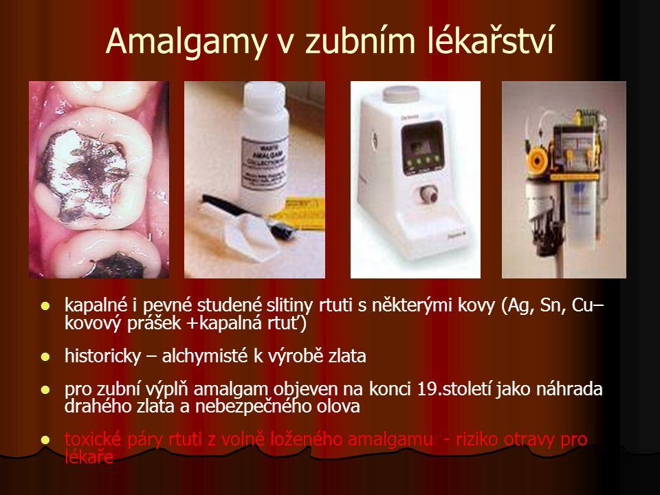 Amalgamy v zubním lékařství