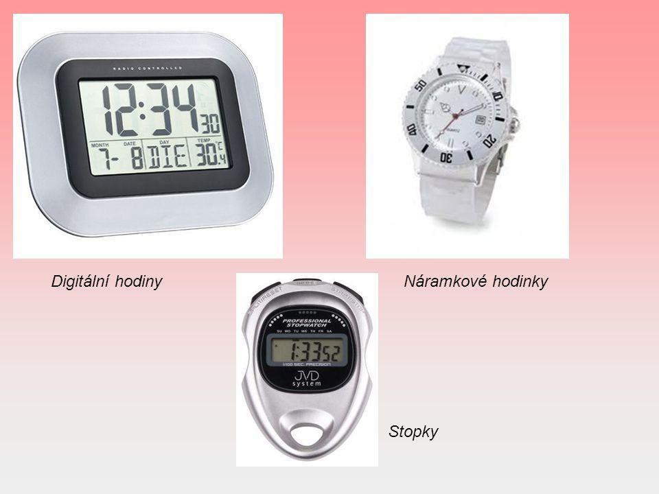 Digitální hodiny Náramkové hodinky Stopky