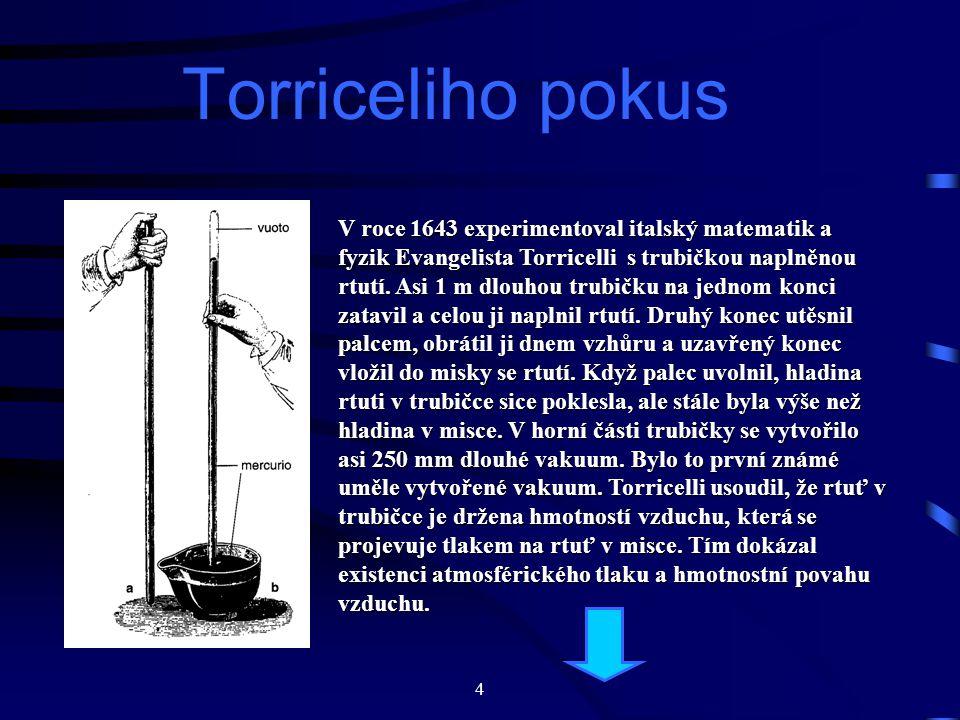 Torriceliho pokus