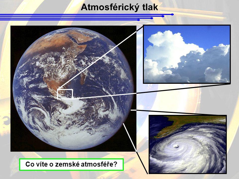 Co víte o zemské atmosféře