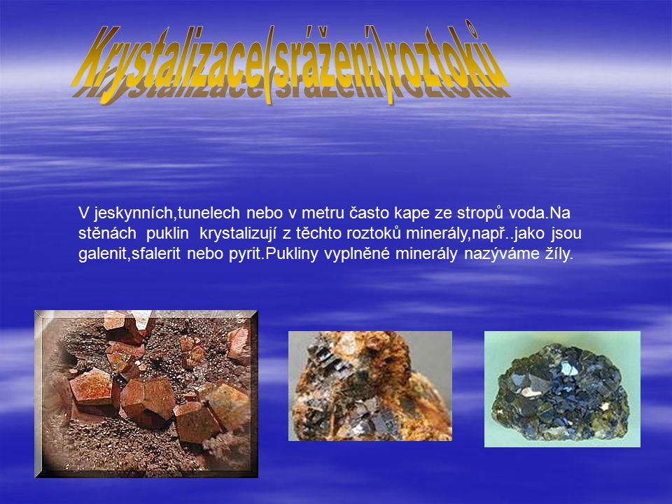 Krystalizace(srážení)roztoků