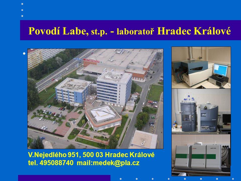 Povodí Labe, st.p. - laboratoř Hradec Králové