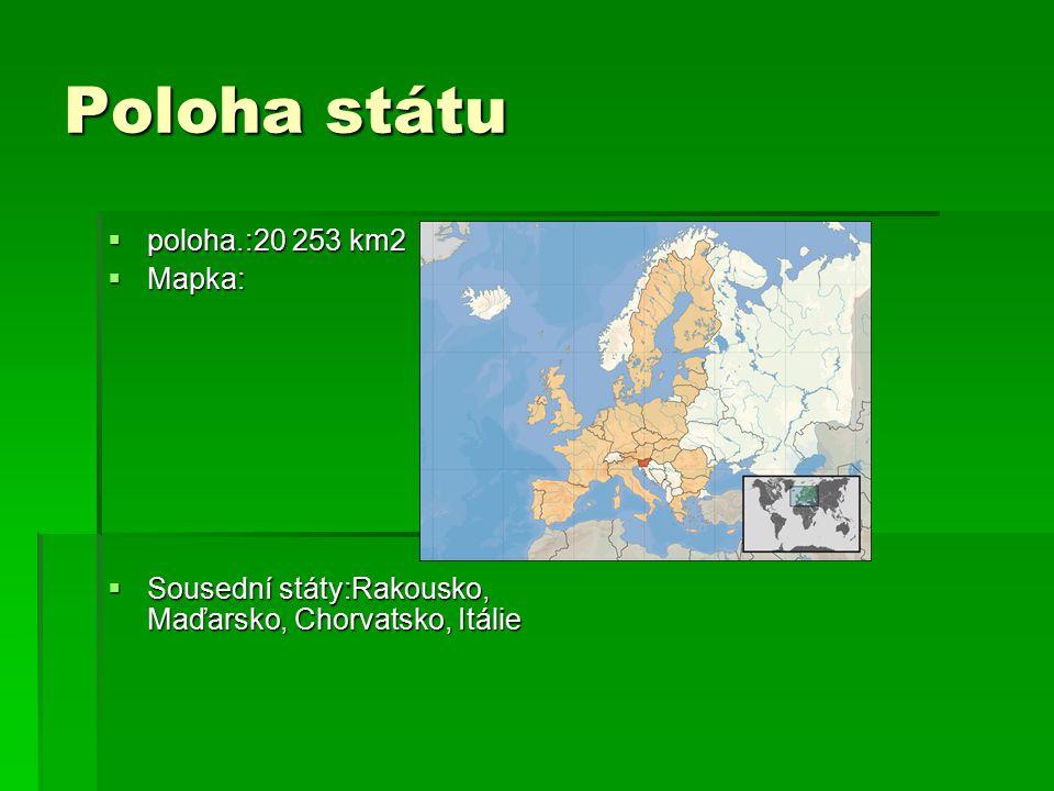 Poloha státu poloha.:20 253 km2 Mapka: