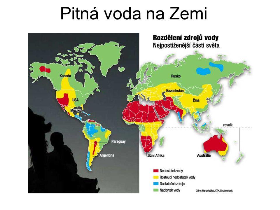 Pitná voda na Zemi