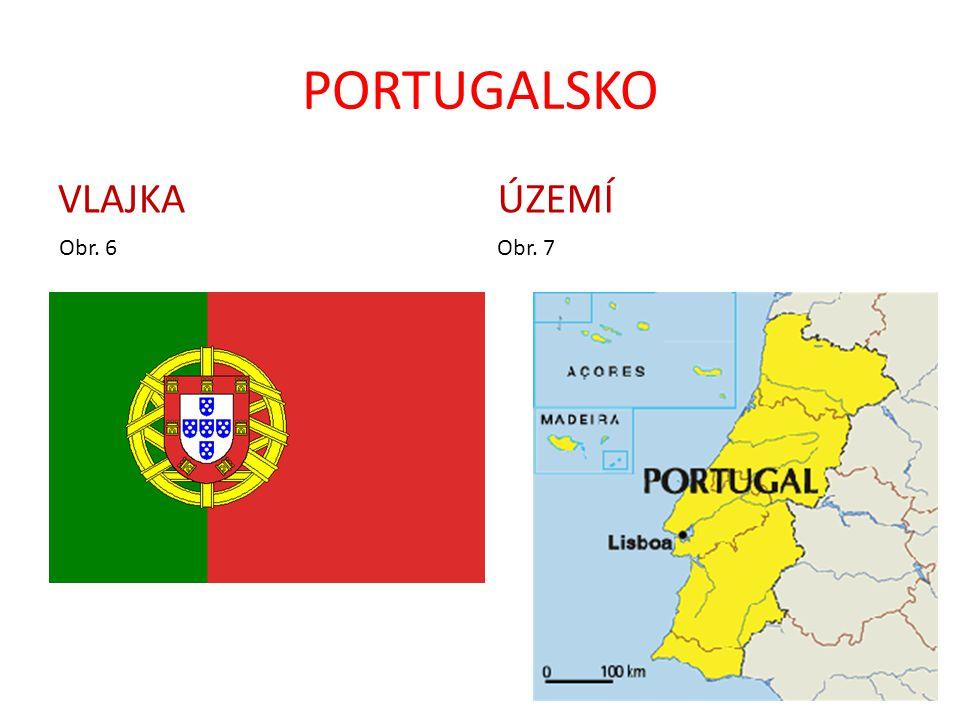 PORTUGALSKO VLAJKA ÚZEMÍ Obr. 6 Obr. 7
