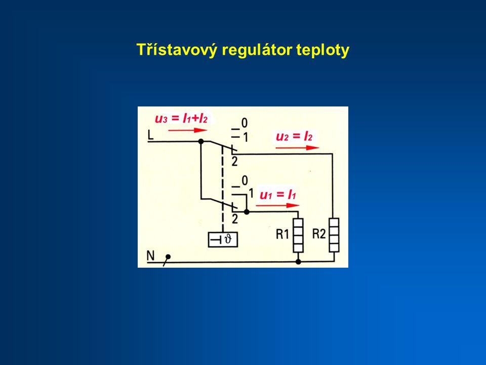 Třístavový regulátor teploty