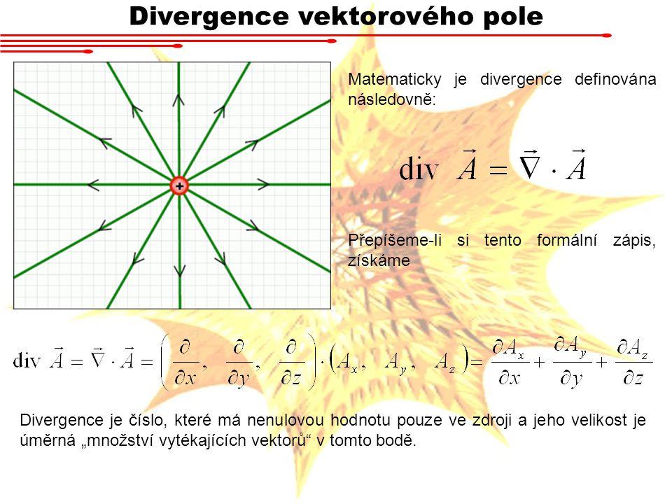 Divergence vektorového pole