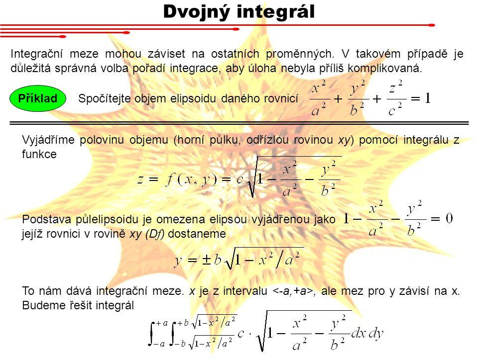 Dvojný integrál