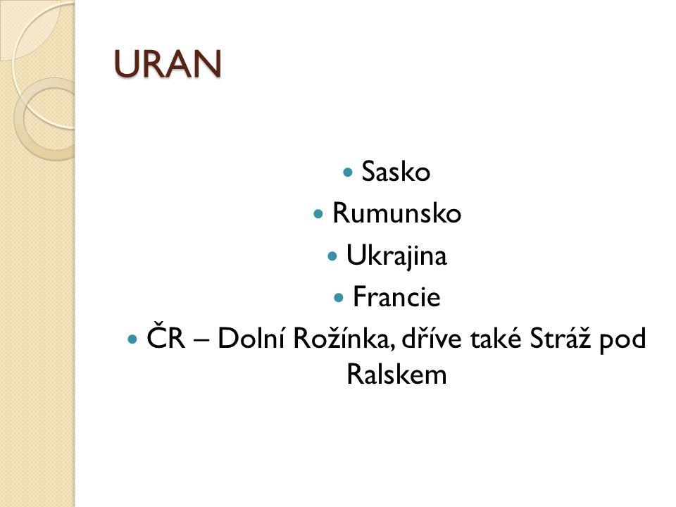ČR – Dolní Rožínka, dříve také Stráž pod Ralskem