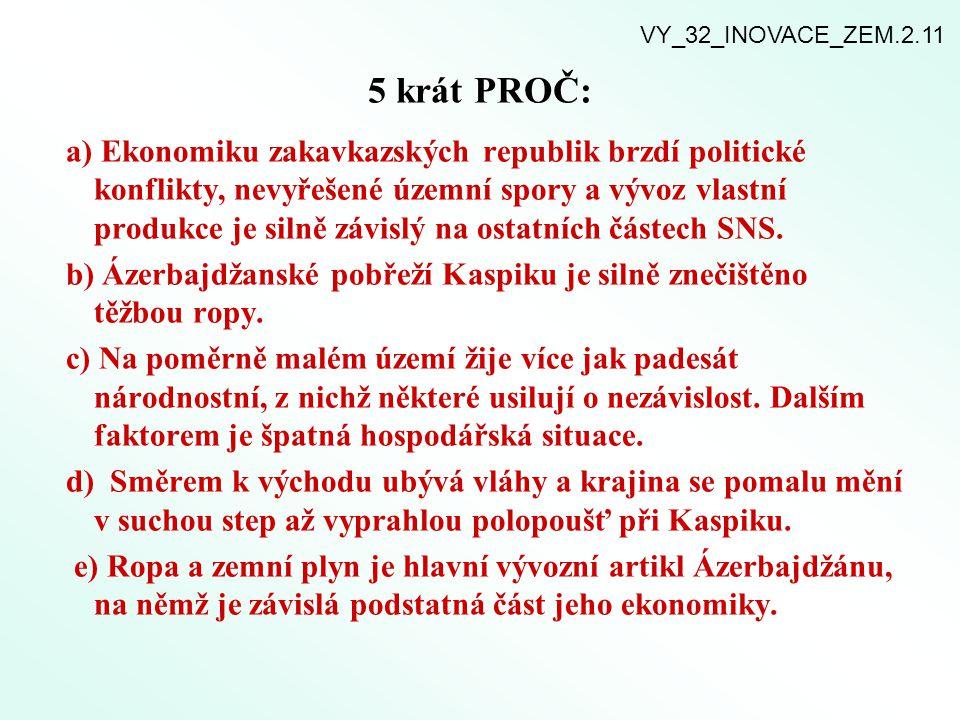 VY_32_INOVACE_ZEM.2.11 5 krát PROČ: