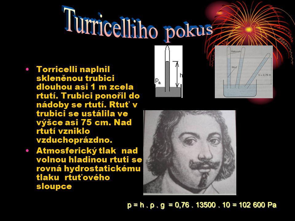 Turricelliho pokus