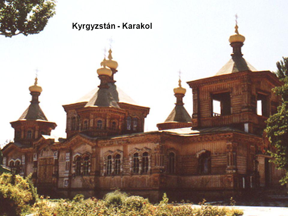 Kyrgyzstán - Karakol