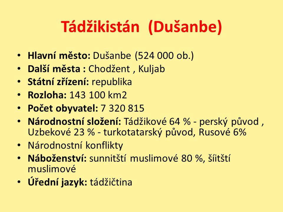 Tádžikistán (Dušanbe)