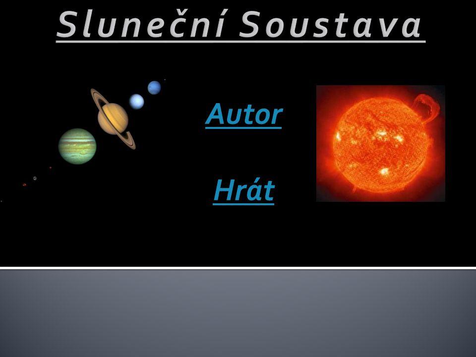 Sluneční Soustava Autor Hrát