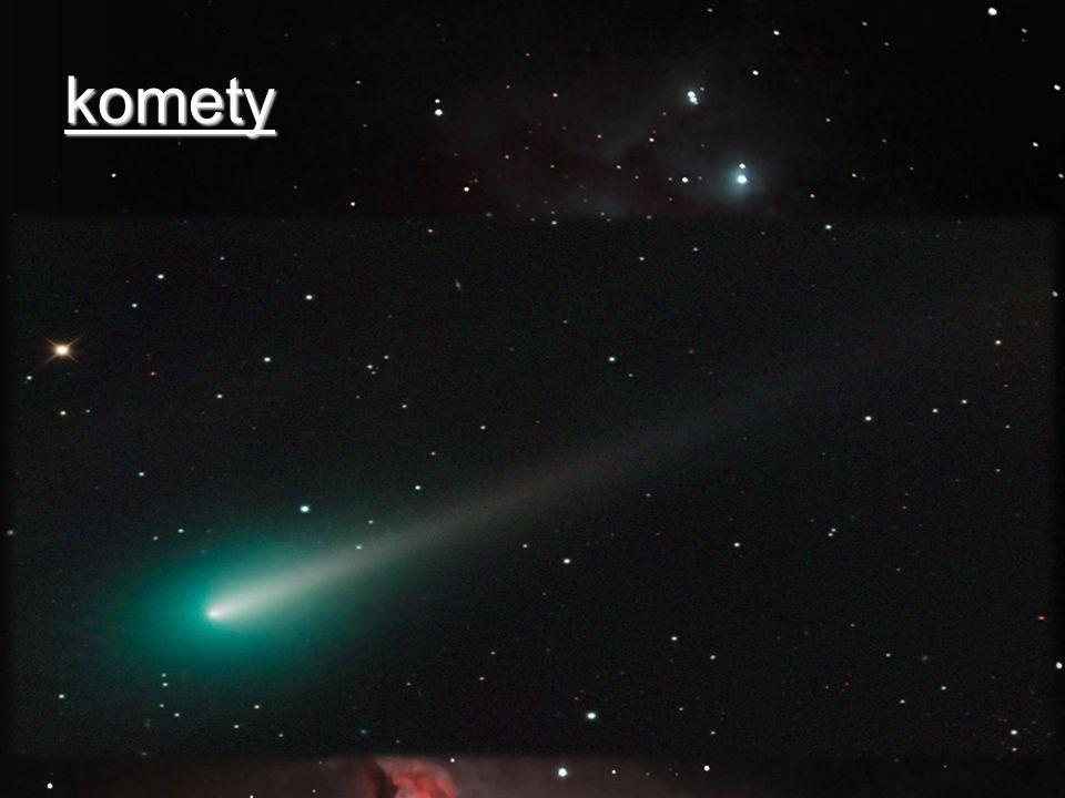 komety Obr.:http://el.wikipedia.org/wiki/%CE%91%CF%81%CF%87%CE%B5%CE%AF%CE%BF:Comet_ISON_Oct_08_2013.jpg.