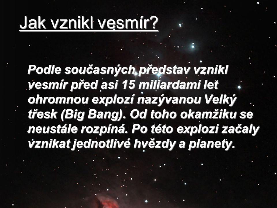 Jak vznikl vesmír