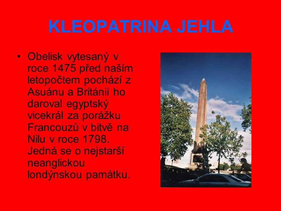 KLEOPATRINA JEHLA