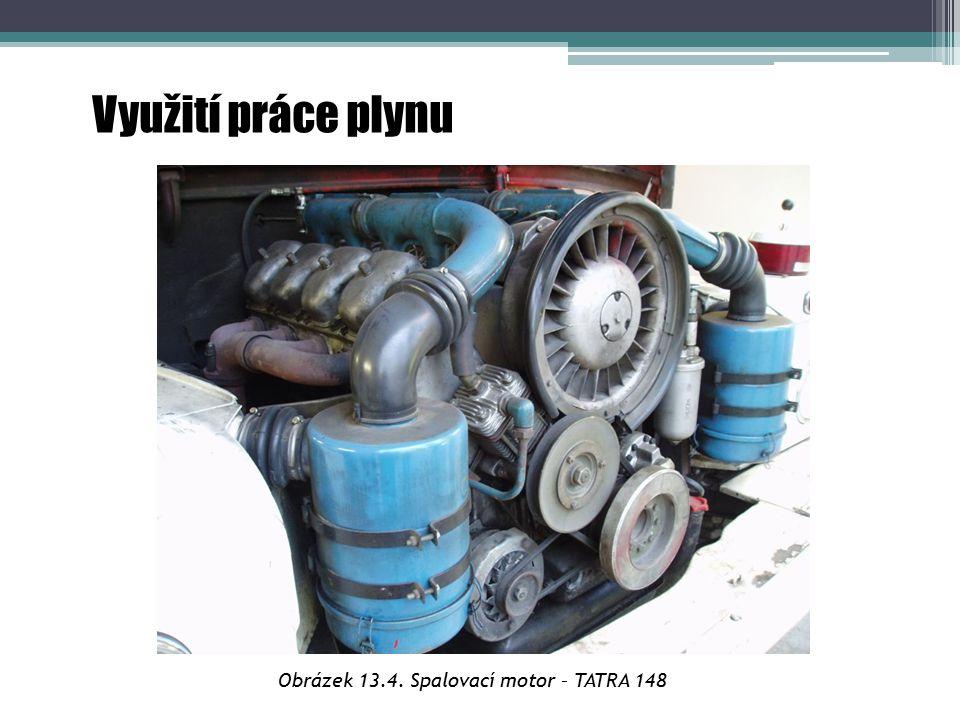Obrázek 13.4. Spalovací motor – TATRA 148
