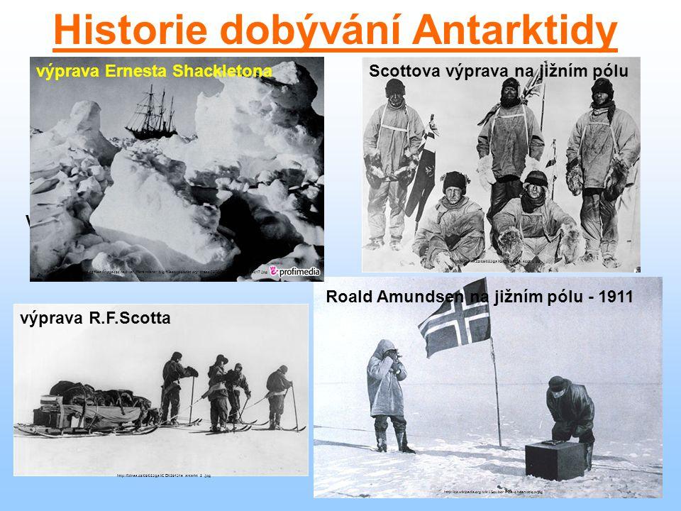 Historie dobývání Antarktidy