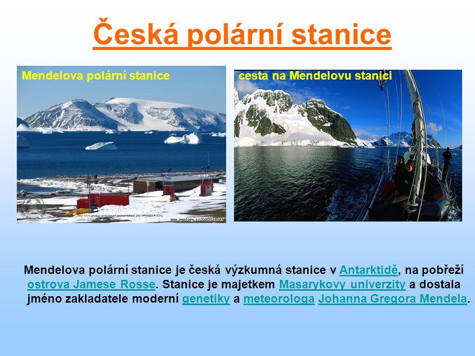 Česká polární stanice Mendelova polární stanice