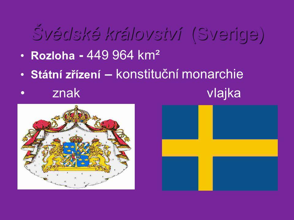 Švédské království (Sverige)