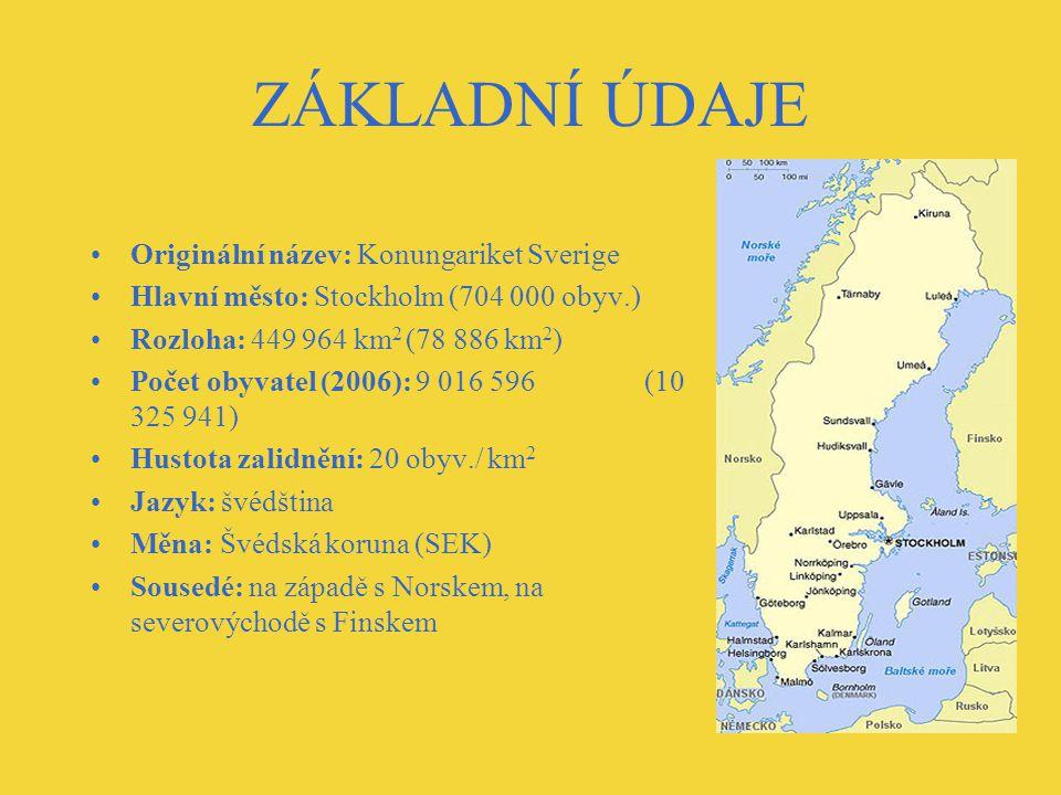 ZÁKLADNÍ ÚDAJE Originální název: Konungariket Sverige