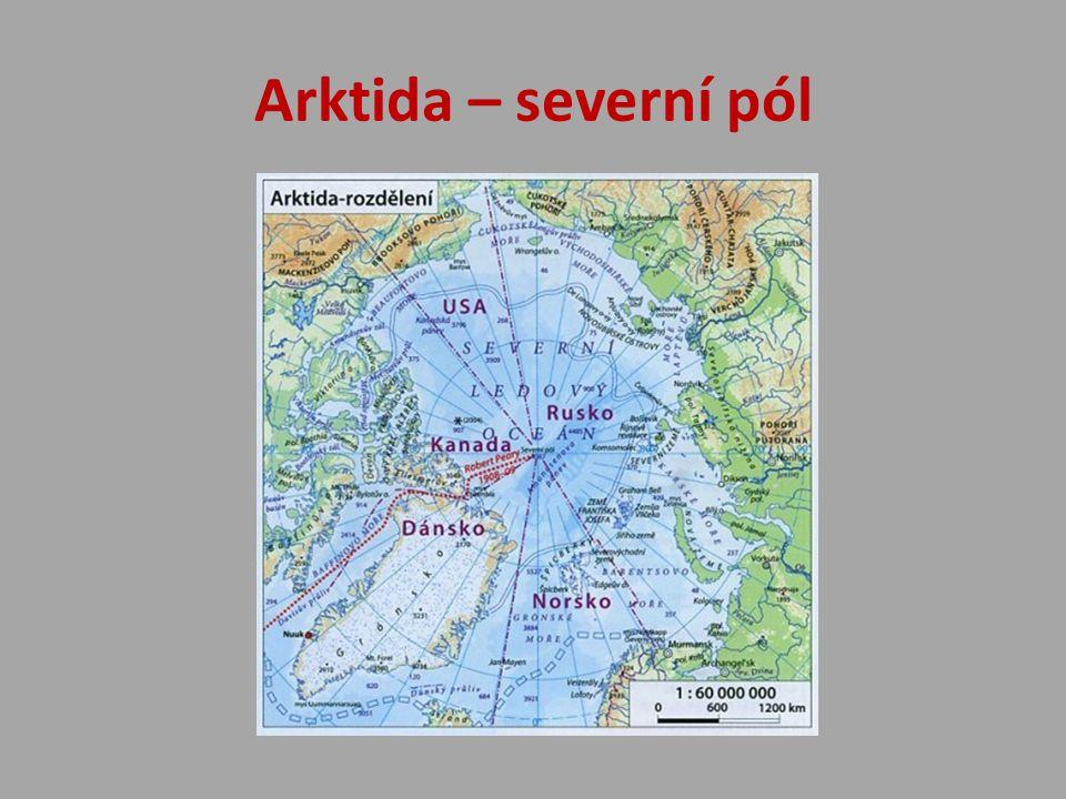 Arktida – severní pól