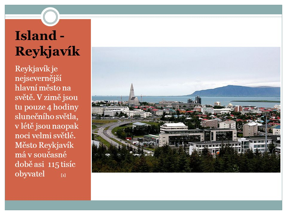 Island - Reykjavík