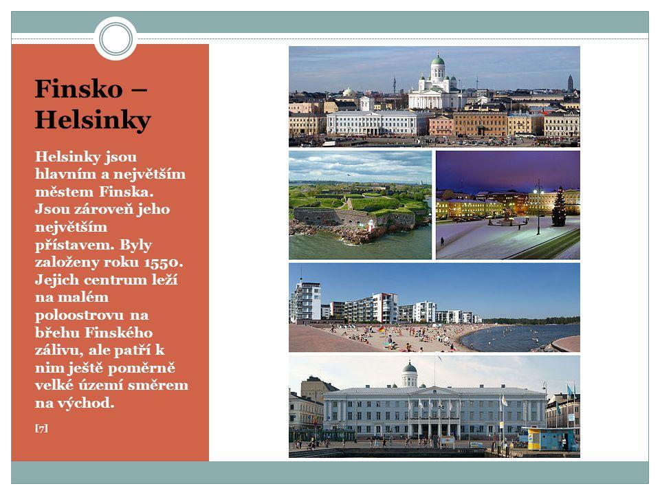 Finsko – Helsinky