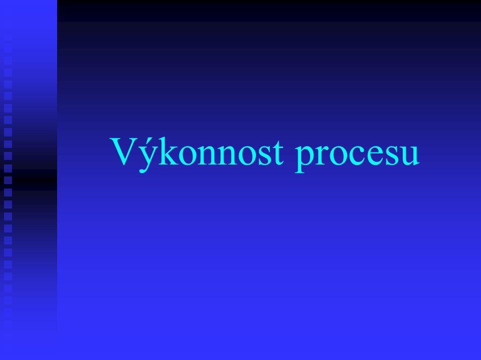 Výkonnost procesu