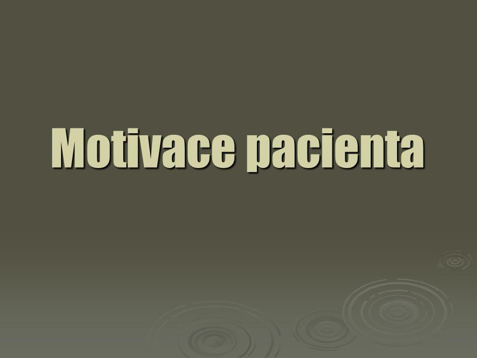 Motivace pacienta