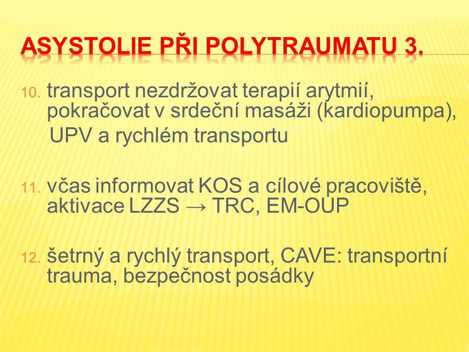 Asystolie při polytraumatu 3.