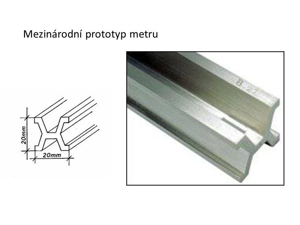 Mezinárodní prototyp metru