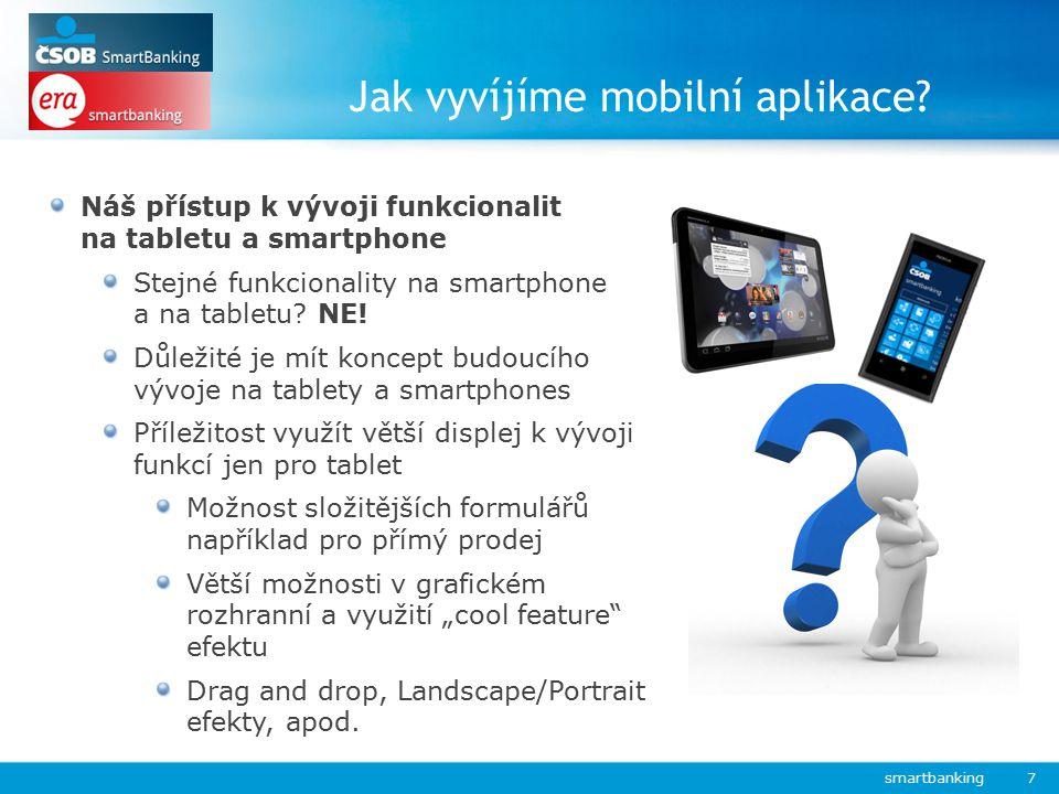 Jak vyvíjíme mobilní aplikace