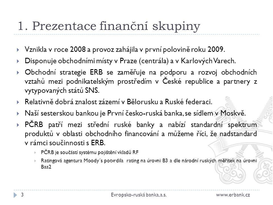 1. Prezentace finanční skupiny