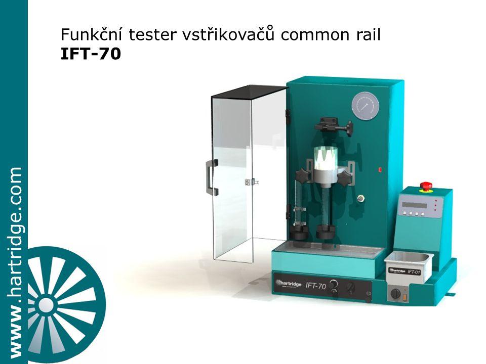 Funkční tester vstřikovačů common rail